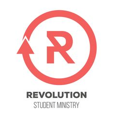 Revolution Student Ministry - Youth Group Logos