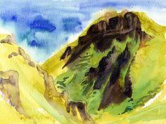 Lynne Chapman - Winnats-Pass-watercolour2 | by An Illustrator's Life For Me!