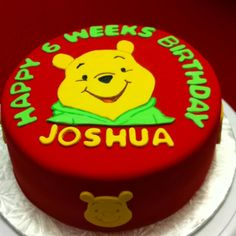 What a prettttyyyyy cake! I think is more of a celebration for moms making it! Cake Boss, Winnie The Pooh, Celebration, Birthday Cake, Cakes, Sweet, Desserts, How To Make, Baby