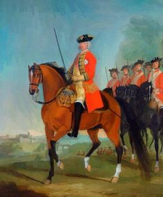Major General the Honourable Sir Charles Howard CB, Colonel of the Regiment David Morier Military Art, Military History, Military Uniforms, British Army Uniform, Seven Years' War, The Time Machine, Canadian History, King And Country, People Of Interest