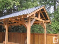 DIY Post and Beam Shed | PEERLESS POST AND BEAM SHEDS AND STRUCTURES (Ladysmith) in Victoria ...