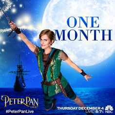 One Month! #PeterPanLive