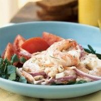 Shrimp and Whitebean Salad