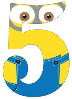 Minion numbers free printables | funnycrafts Birthday Candy, Minion Birthday, Birthday Diy, Birthday Party Themes, Minion Theme, Minion Party, Minion Template, Bolo Minion, Minion Classroom