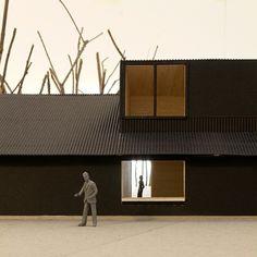 BOIDOT & ROBIN architectes Un toit en lisière