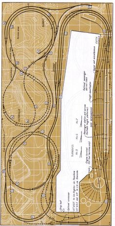 A great design with a lot of track work for operating many train consisits