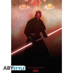 STAR WARS Poster Star Wars Darth Maul (98x68)
