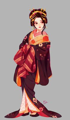 A Yuki-onna I designed for a small story . There's nothing I can say about her yet, but I hope you like her! Anime Kimono, Korean Art, Asian Art, Girls Characters, Anime Characters, Yuki Onna, Kimono Design, Japanese Characters, Japanese Outfits