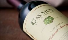 Caymus Cabernet Sauvignon 2011, New release, available now.