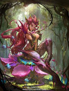 League of Legends Zyra by FXcat.deviantart.com on @DeviantArt