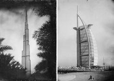 Dubai photographed by Retro Process - https://www.deviantworld.com/art/photography/dubai-photographed-retro-process/