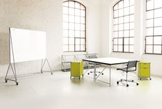 Rackpod klaptafels en DT-line (Design Thinking meubels)