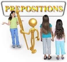 Onlineteaching Maths and English: WORKSHEET ON 'PREPOSITION'