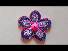 """. Dieses VIDEO ist auch in DEUTSCH zu sehen: https://www.youtube.com/watch?v=yRNdy9Ro9QA In my video """"Quilling Star Series no. 15,"""" I want to show you the Qu..."""