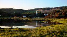 Kilmore Church on the Isle of Mull, Scotland.