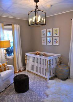 Serene, Gender-Neutral Nursery for a Surprise Baby - Project Nursery