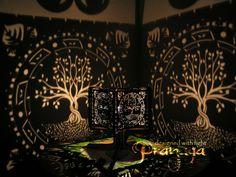 Pranaya Design: Tree of Life Shadow Lamp by pranayadesign.deviantart.com on @DeviantArt
