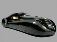 1939 Duesenburg Coupe Simone Midnight Ghost…words would just be an understatement. source