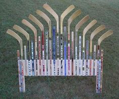 Hockey Stick Head Board — my son will play hockey.... he WILL.