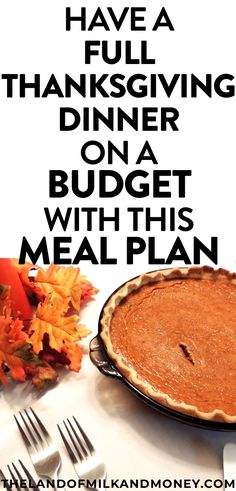 TThese simple Thanksgiving dinner recipes JUST what need! These easy and healthy ideas will be perfect for our table to have a cheap Thanksgiving - great for saving money! And the meal plan is incredi Easy Thanksgiving Dinner, Thanksgiving Recipes, Cooking For A Crowd, Cooking On A Budget, Frugal Meals, Budget Meals, Easy Meals, Simple Meals, Healthy Recipes On A Budget