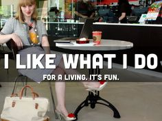 Megan Hunt likes what she does for a living, because it's fun! Learn more about her in this deck.