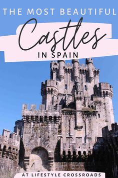 Do you like visiting castles in Europe? - Check this list of my favorite dreamy Spanish castles and get ready to channel your inner royalty! Europe Destinations, Europe Travel Tips, European Travel, Travel Advice, Travel Guides, Quote Travel, Alaska Travel, Travel Posters, Spain And Portugal