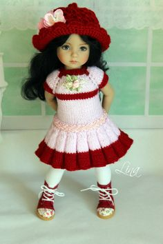 """The outfit for doll 13"""" Dianna Effner Little Darling 