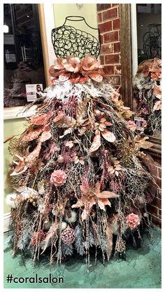 Christmas tree dress at #coralsalon in Murfreesboro, tn