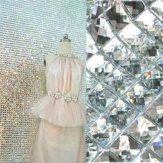 13 Mirror Tiles Silver Bathroom Wall Sheets Crystal Diamond Mosaic Tile Backsplash Kitchen Bevel glass Subway Home Improvement