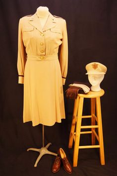 WWII Army Nurse Summer Off Duty Uniform