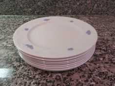 Adderley Blue Chelsea (England) china- set of 8 very nice luncheon plates for one price- collectible, fine condition, authentic, beautiful by HeathersCollectibles on Etsy