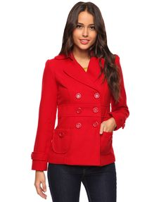 Button Tab Coat | FOREVER21 - 2083316929