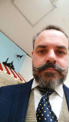 Handlebar Mustache, Beard No Mustache, Moustaches, Style, Fashion, Beards, Swag, Moda, Fashion Styles