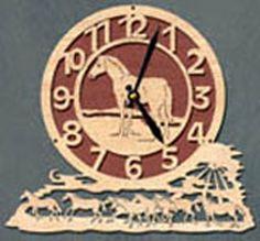 Horse Clock Project Pattern
