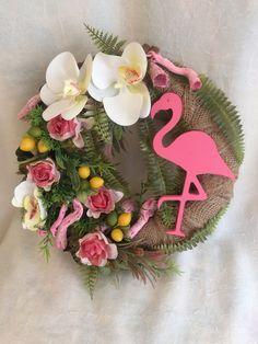 Burlap Wreaths, Wreath Ideas, Paper Art, Florals, Floral Wreath, Birds, Natural, Garden, Wedding