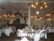 People are dining out more often, but not as often as they would like, which is good news for the restaurant industry and the American economy... Read on... (Photo: Antoine's dining room in New Orleans)