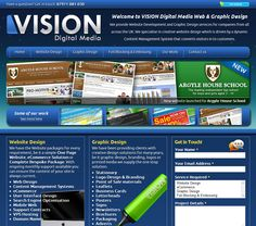 Website Development and Graphic Design Services: http://www.visiondigitalmedia.co.uk