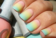 Pastel Ombre- so cute and springy