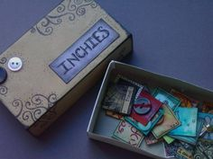 Inchie Storage - PAPER CRAFTS, SCRAPBOOKING & ATCs (ARTIST TRADING CARDS)