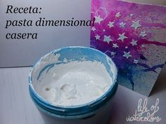 Life of watercolors: Pasta dimensional casera - Bebe - Pasta Rezepte Homemade Crafts, Diy And Crafts, Crafts For Kids, Motif Arabesque, Pasta Casera, Sculpture Painting, Clay Food, Paperclay, Pasta Flexible