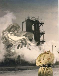Bruno Munari fotomontaggio 1938