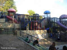 Chutes and Ladders Park in Bloomington, Minnesota