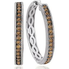 levian chocolate diamonds | le vian earrings le vian 14k white gold earrings chocolate diamond ...