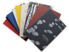 Steidl - International Photography Program Catalogues by Montserrat Llaurado, via Behance