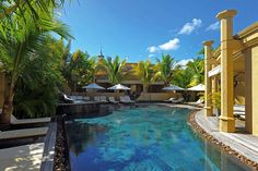 The spa and wellness centre at Le Mauricia in Mauritius.