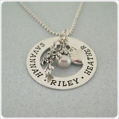 Hand Stamped Jewelry. Bless Our Love