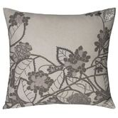 Found it at Wayfair - Hydrangea Decorative Pillow in Silver