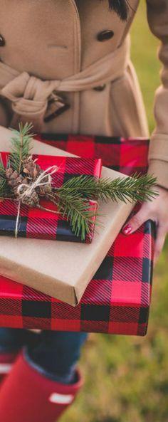 #Tartan #giftwrap