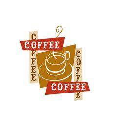 Coffee Coffee logo  www.michaelmorandesign.com