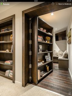 103 best secret room safe room panic room ideas images hidden rh pinterest com